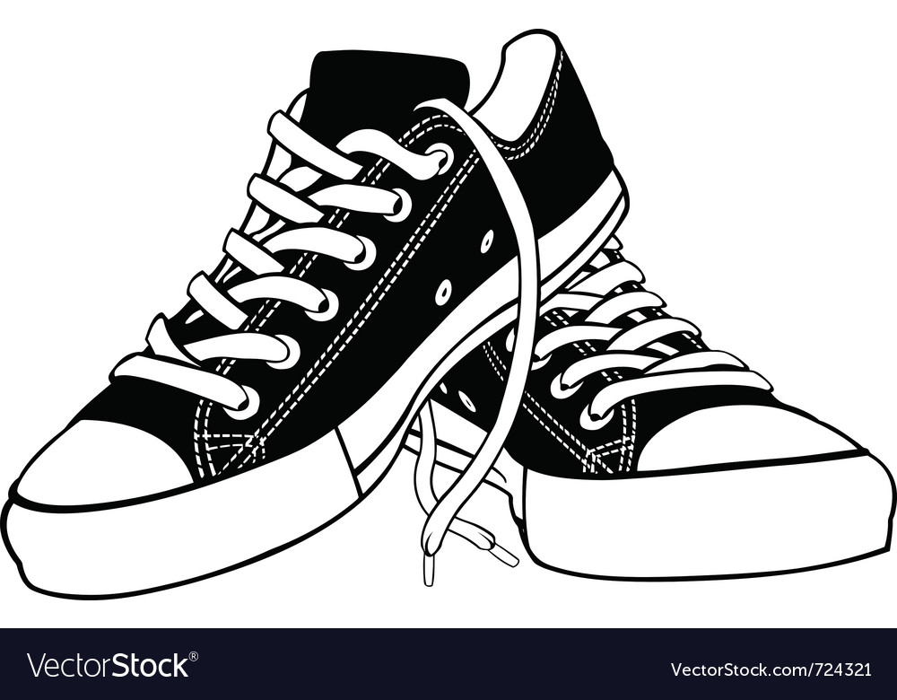 Of shoes Royalty Free Vector Image - VectorStock