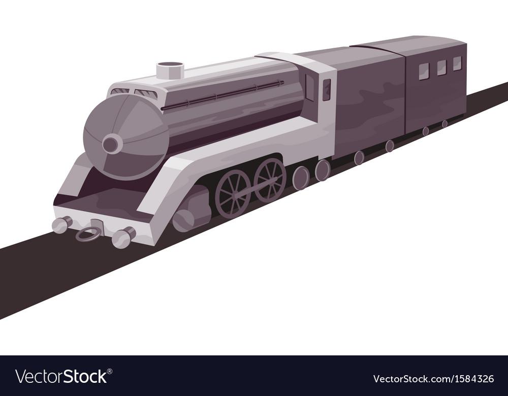 Vintage Train Retro