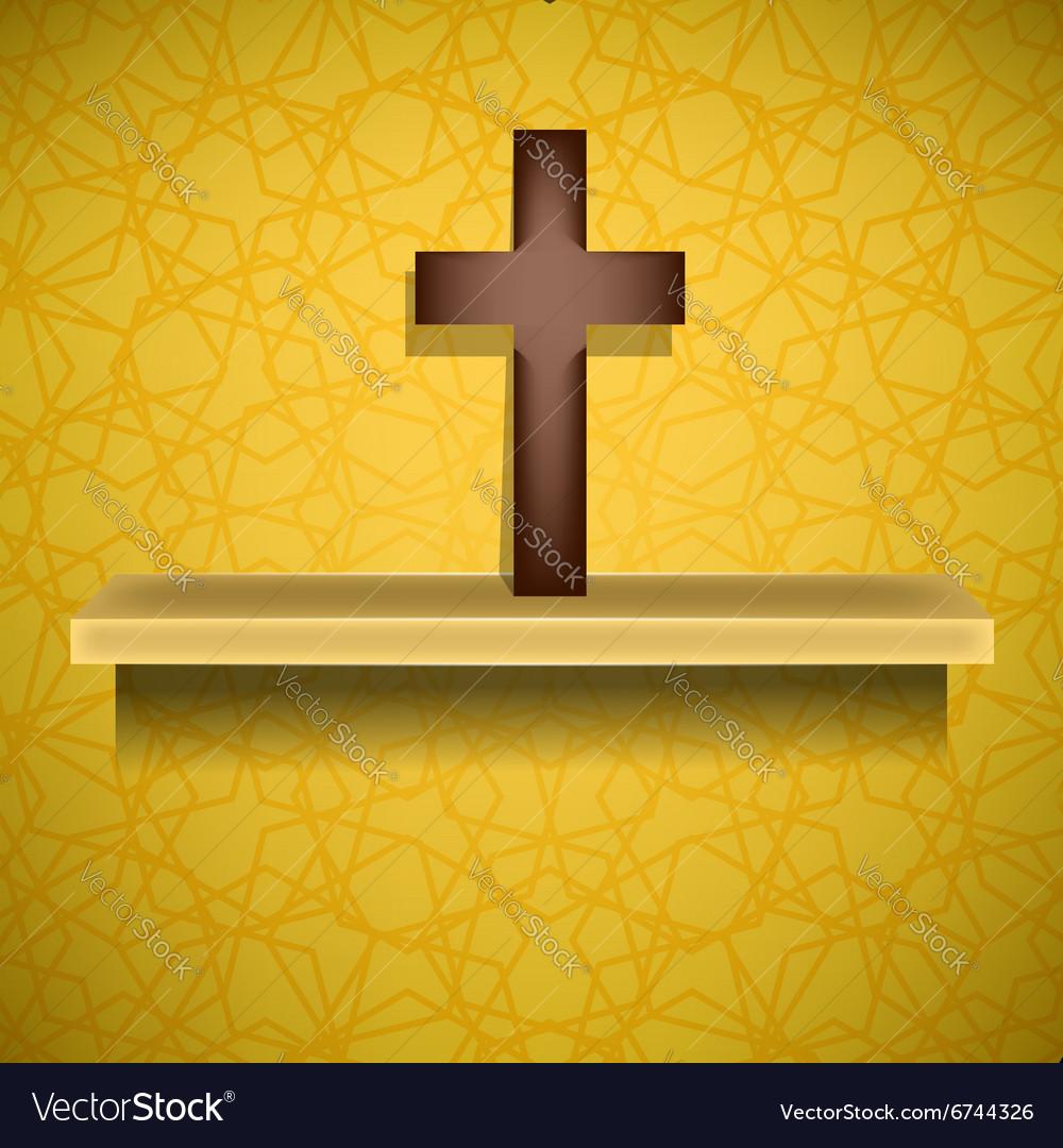 Wood Cross Symbol of Religion