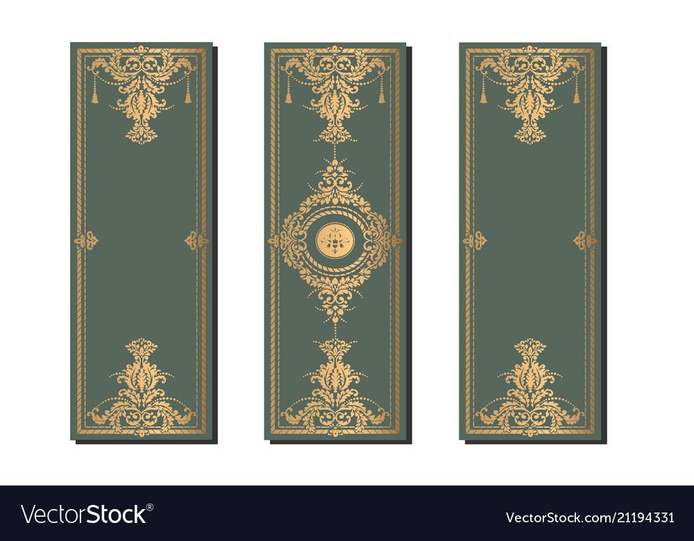 Decorative frame elegant element