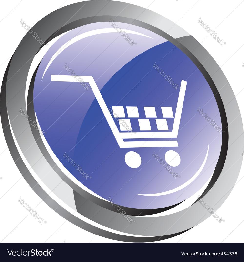 shopping cart icon. Shopping Cart Icon Vector