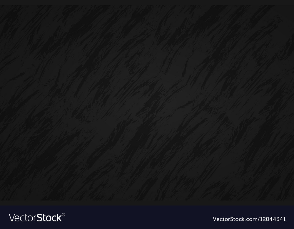 Black abstract background with dark streaks vector image