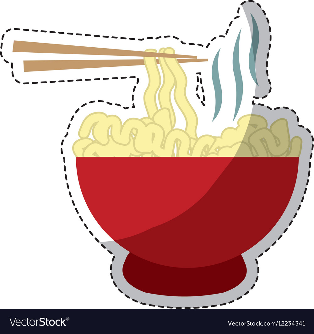 Bowl of noodles icon