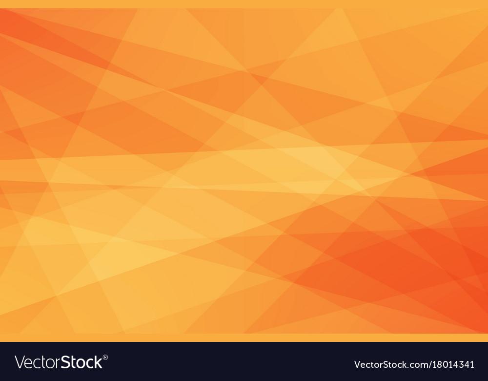 Orange geometric abstract background