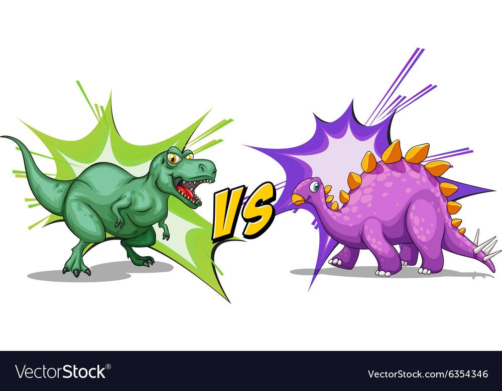 Dinosaur Vs Dragon Fight For Baby Cartoon Short Kids