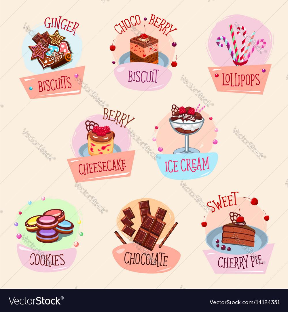 Bakery desserts cakes and ice cream