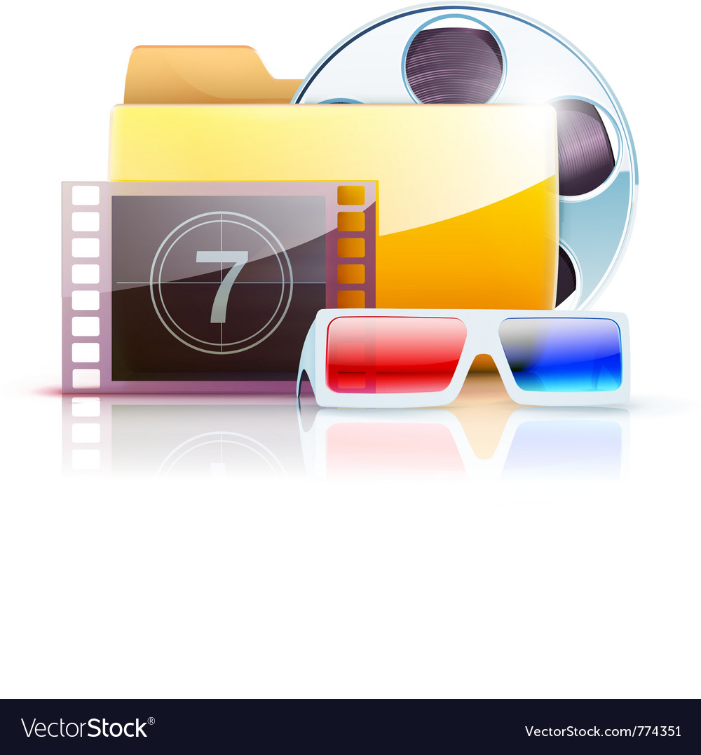 Digital video folder