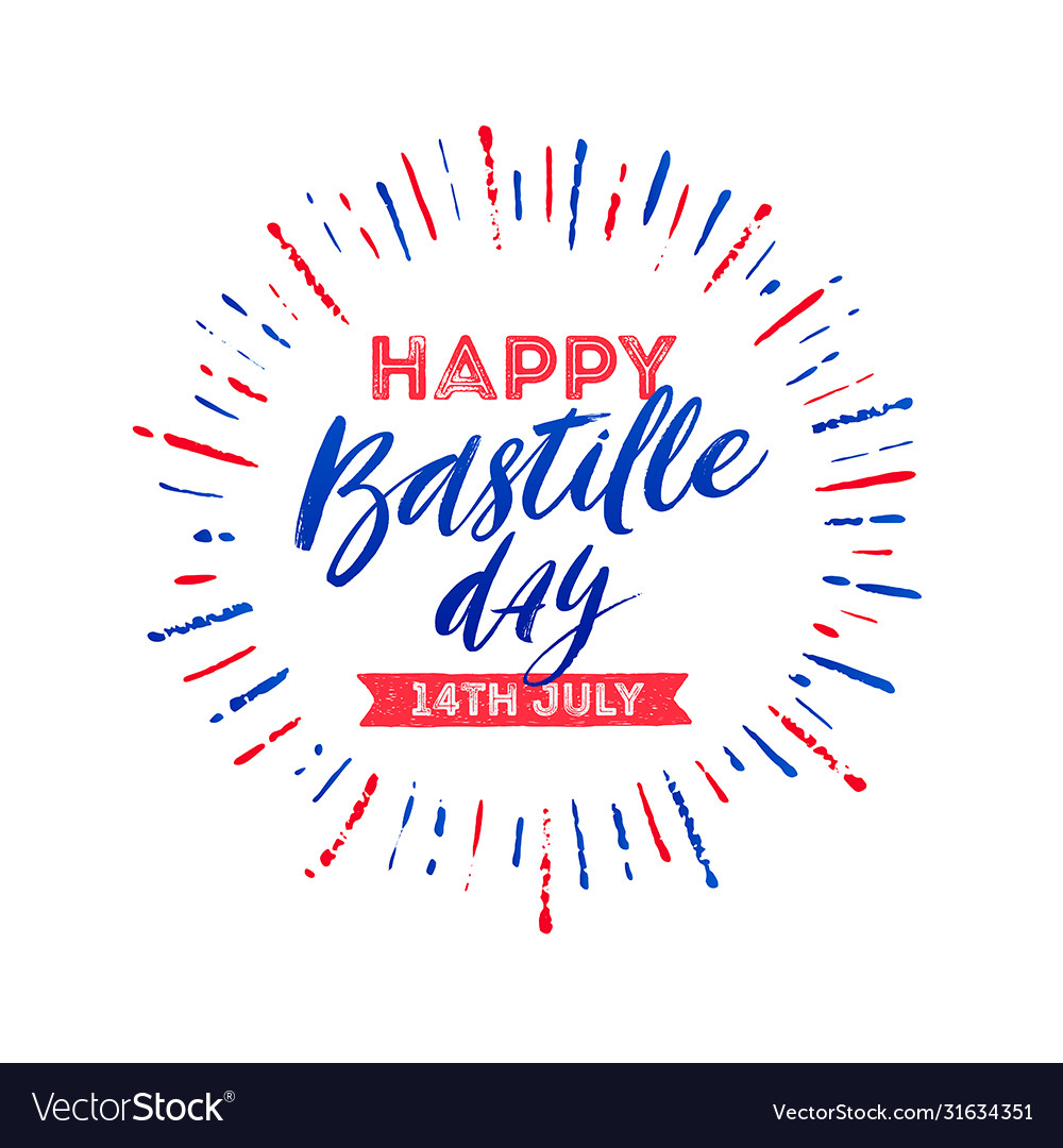French national holiday - bastille day