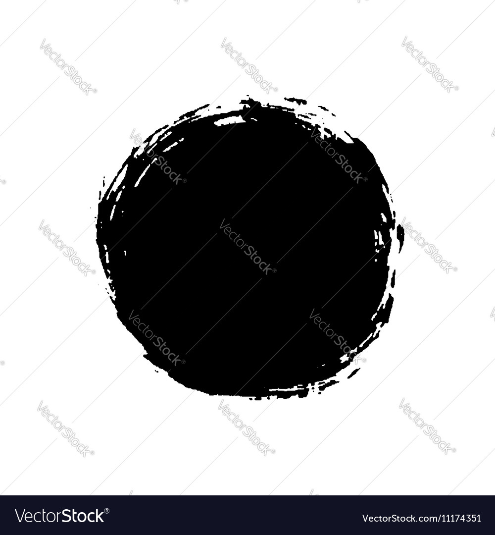 Grunge background circle black