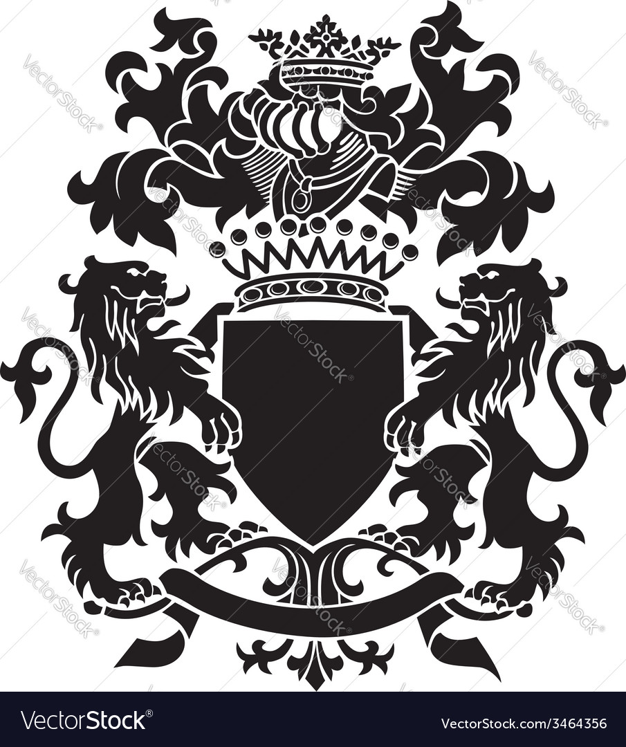 Heraldic silhouette no30