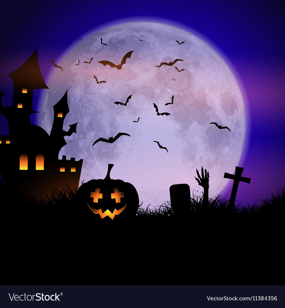 Halloween Spooky.Spooky Halloween Background
