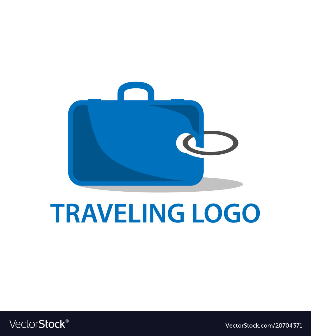 Logo template for travel agency