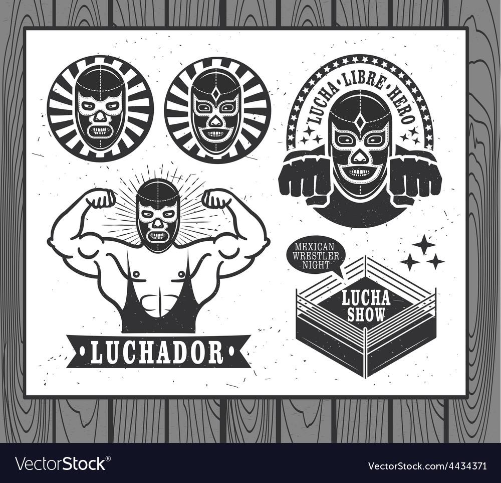 Lucha Libre vector image