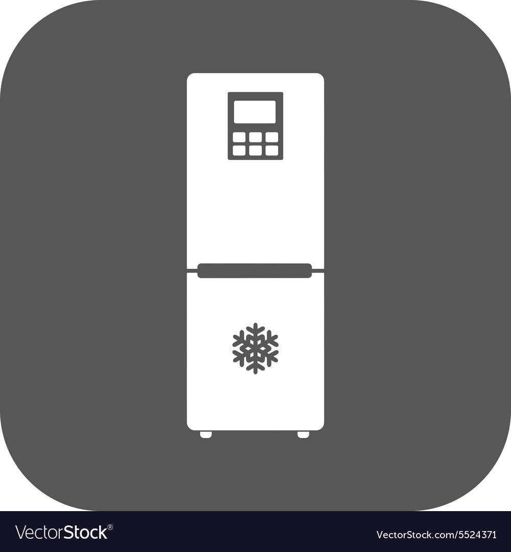The icebox icon Fridge and refrigerator symbol