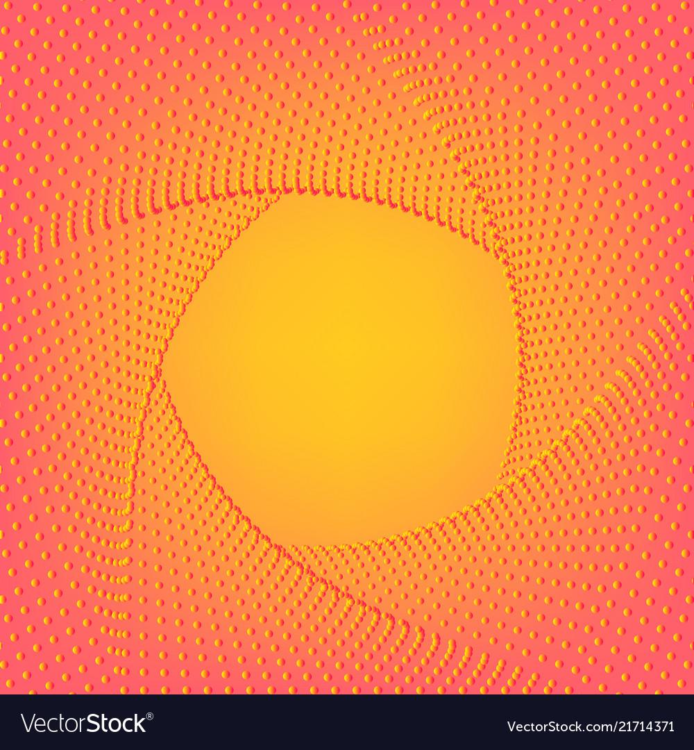 Yellow pink background minimal geometric
