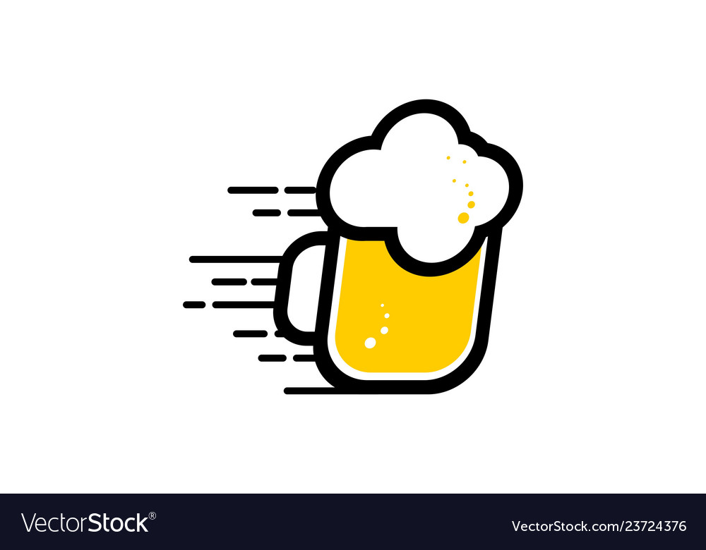 Beer alcohol logo