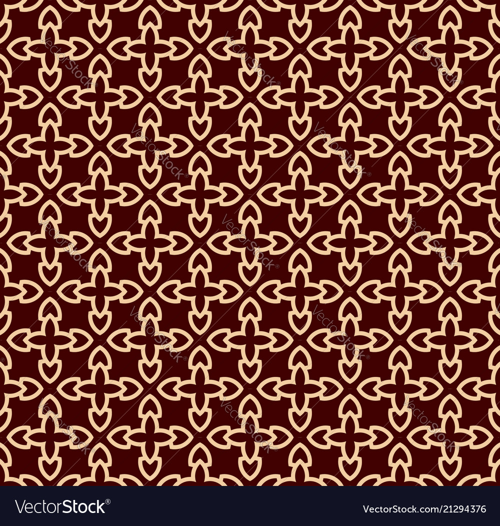 Seamless geometric line pattern contemporary