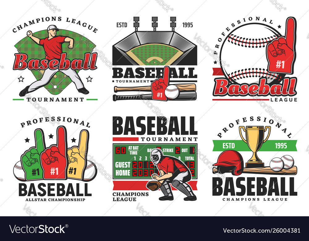 Baseball balls sport game bats trophy players