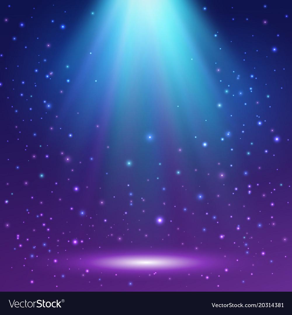 magic light background shining background vector image