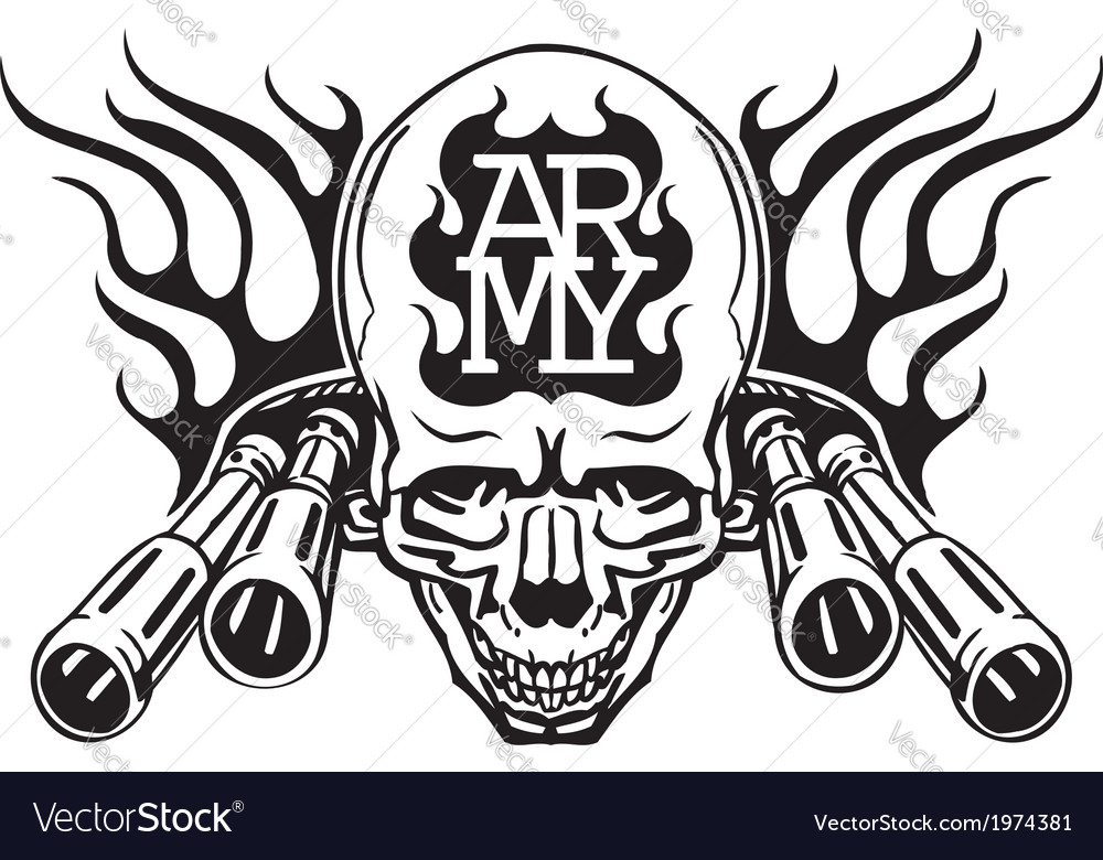 Us Army Military Design Royalty Free Vector Image