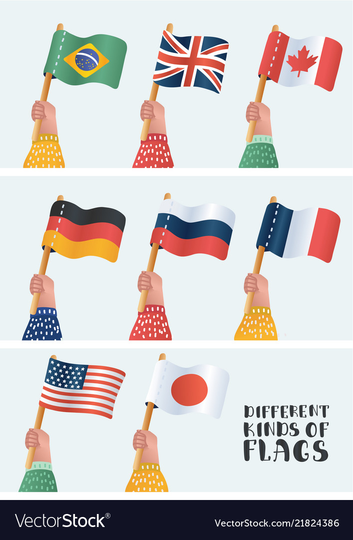 Set national flags
