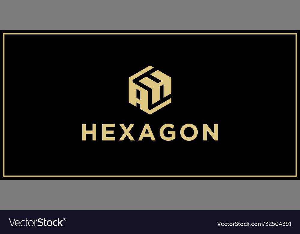 Ah hexagon logo