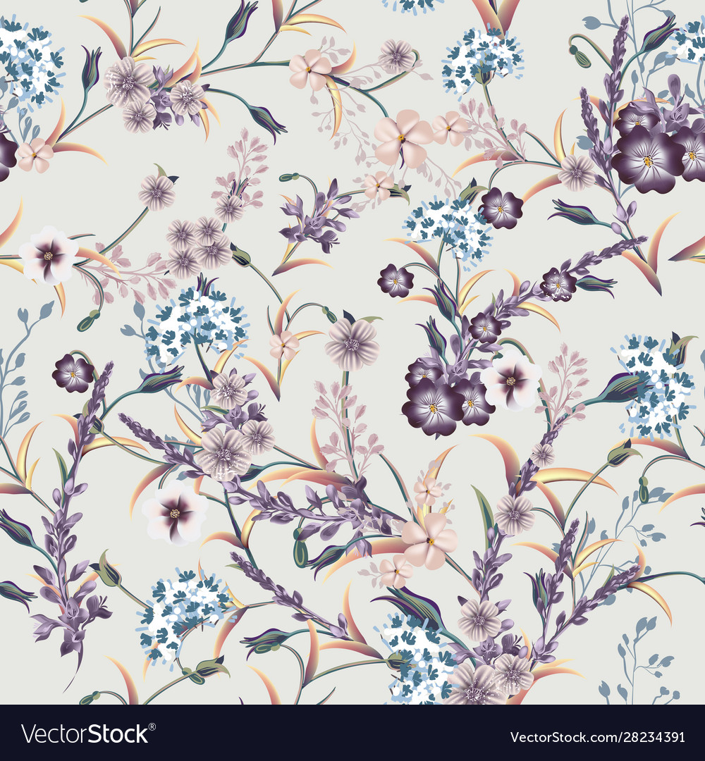 Beautiful soft vintage pattern in classic style