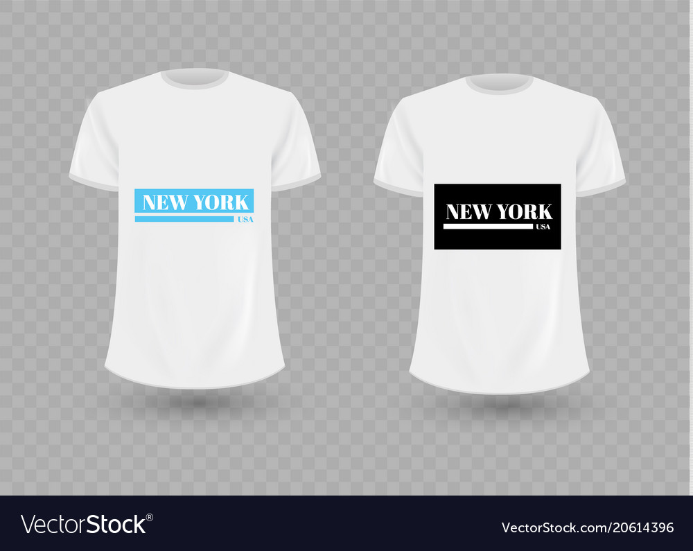 Black and white new york usa graphic fashion label