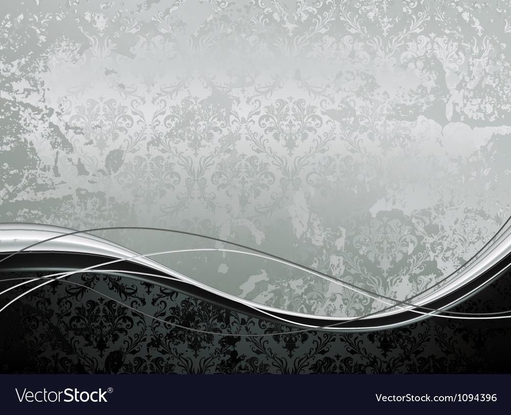 Wallpaper Background horizontal vector image