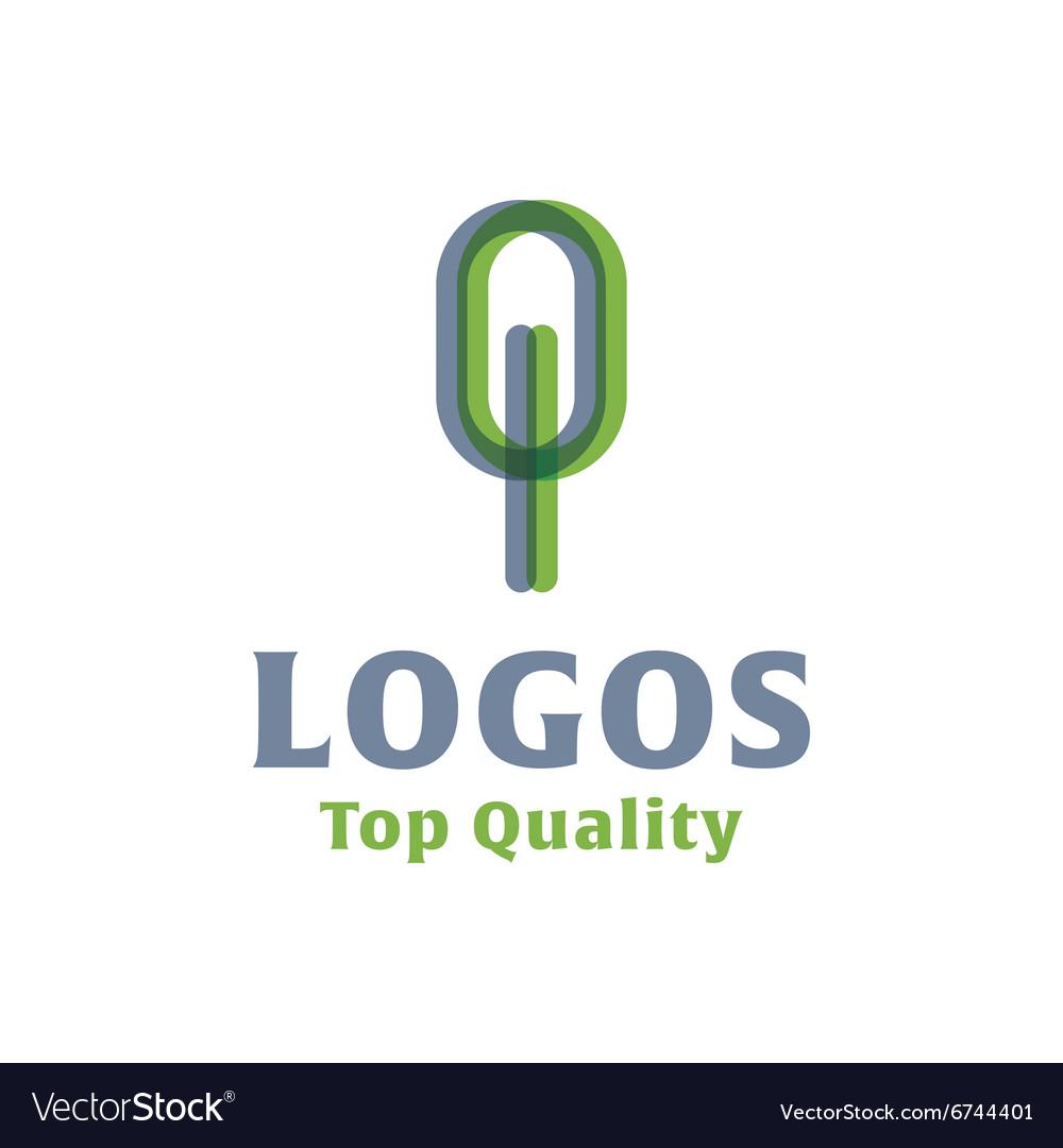 Abstract tree flat Logos style