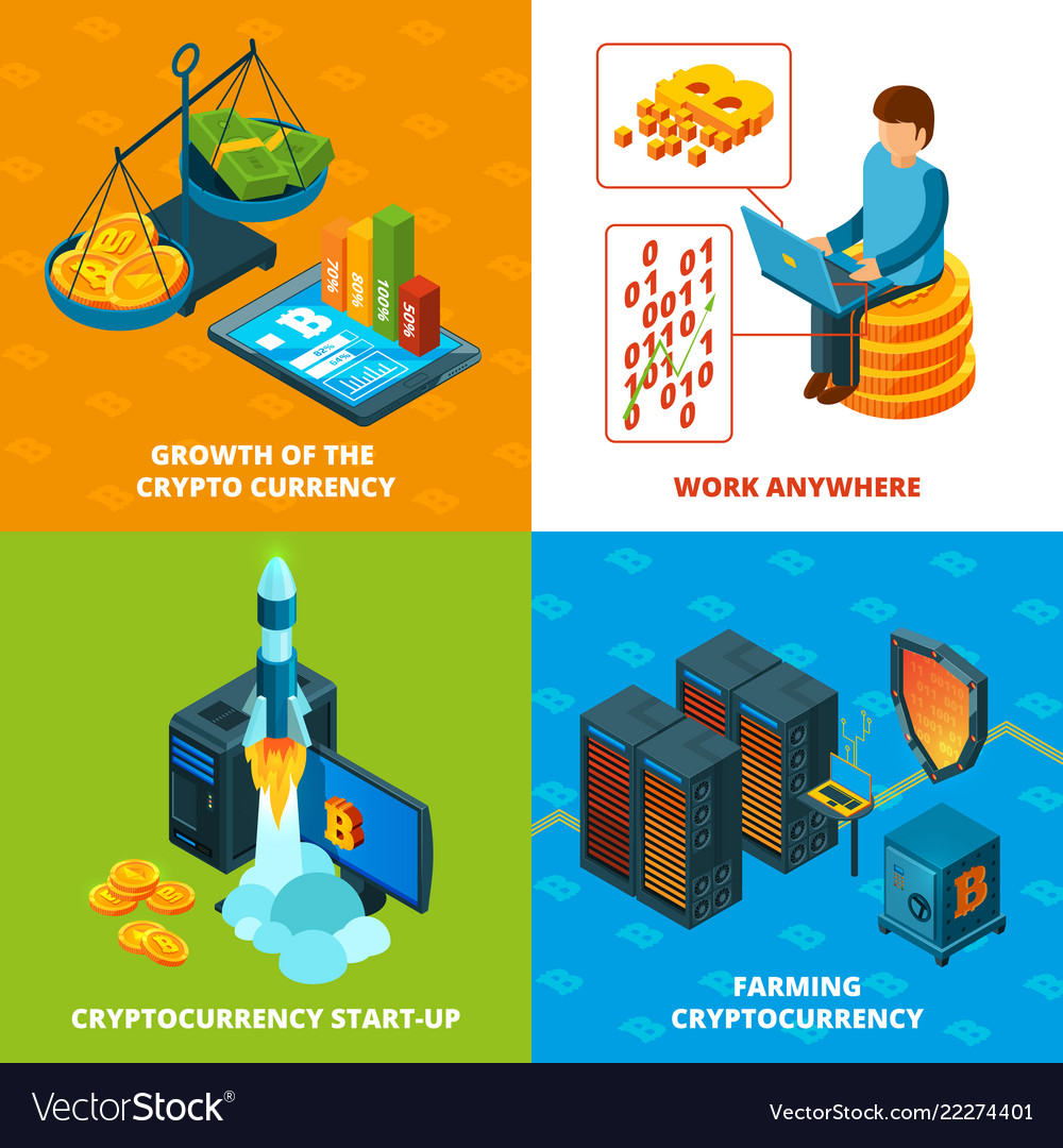 Cryptocurrency mining electronic money blockchain