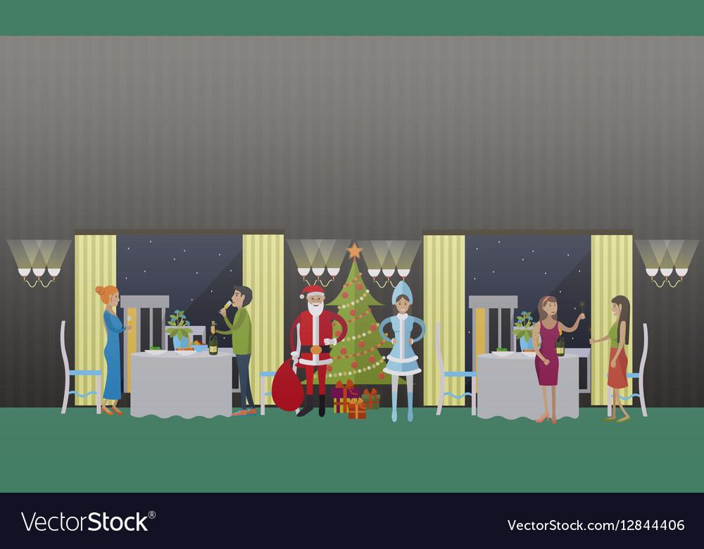 New Years Eve celebration vector image