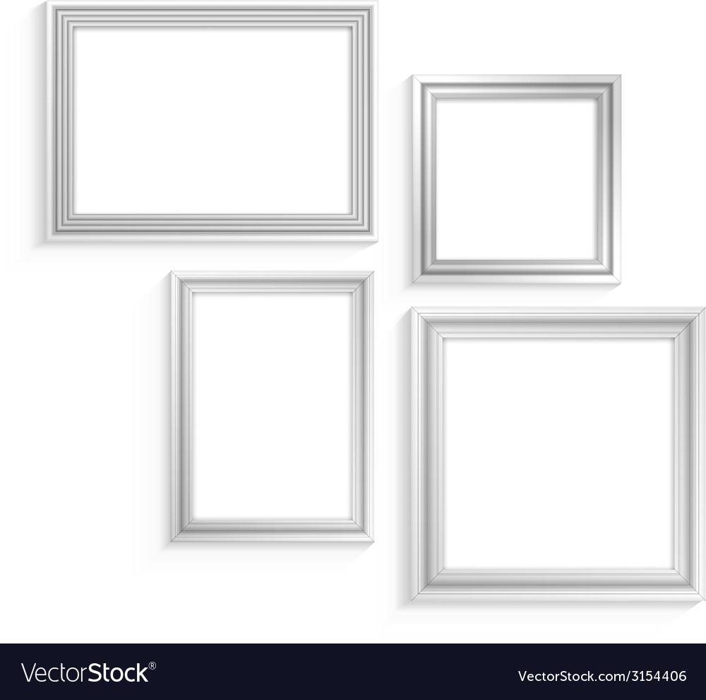 White frames set