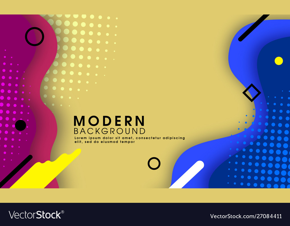 Abstract modern trendy halftone background