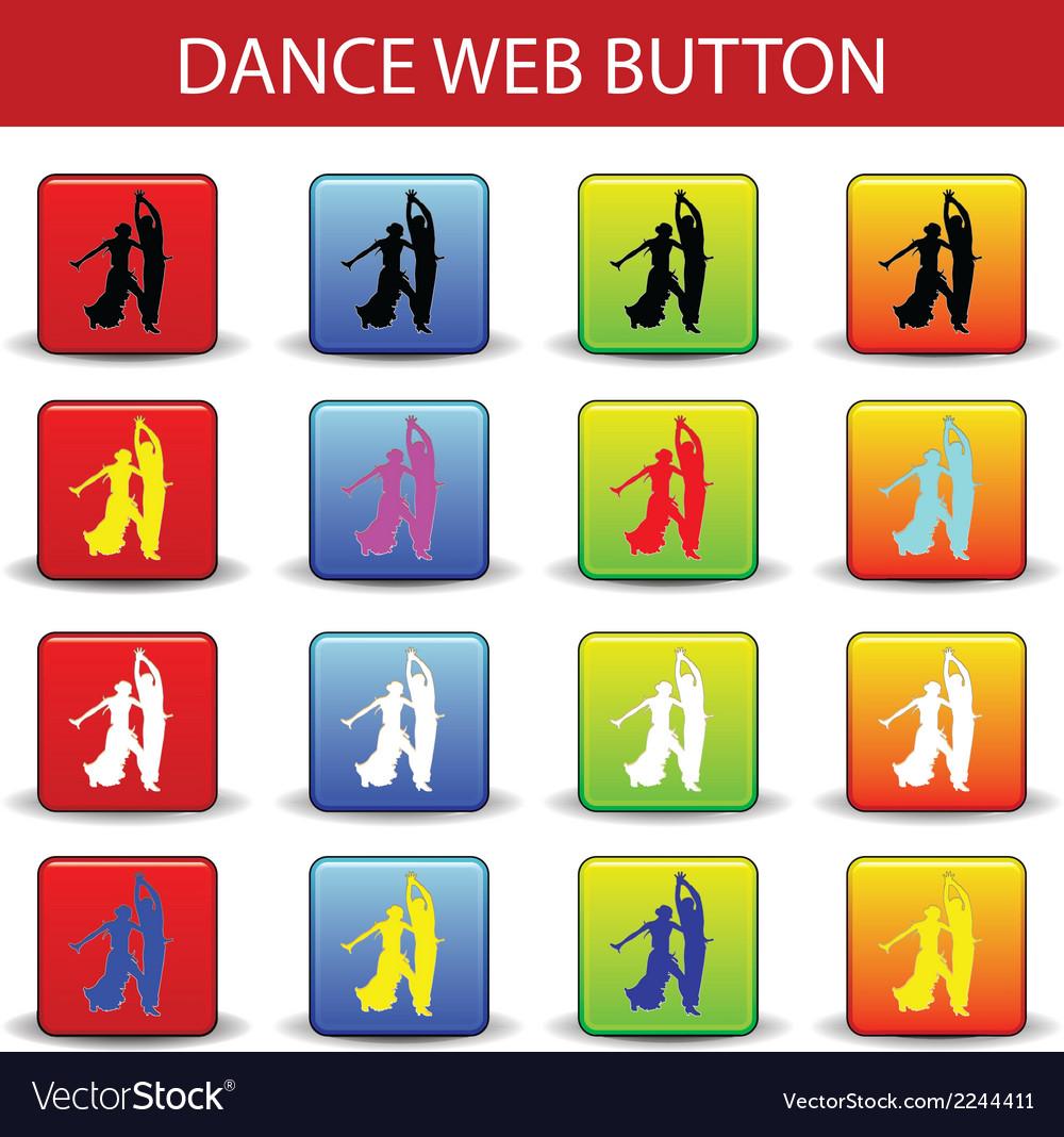 Web button dance