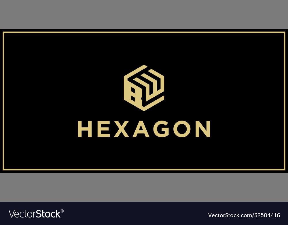 Bw hexagon logo