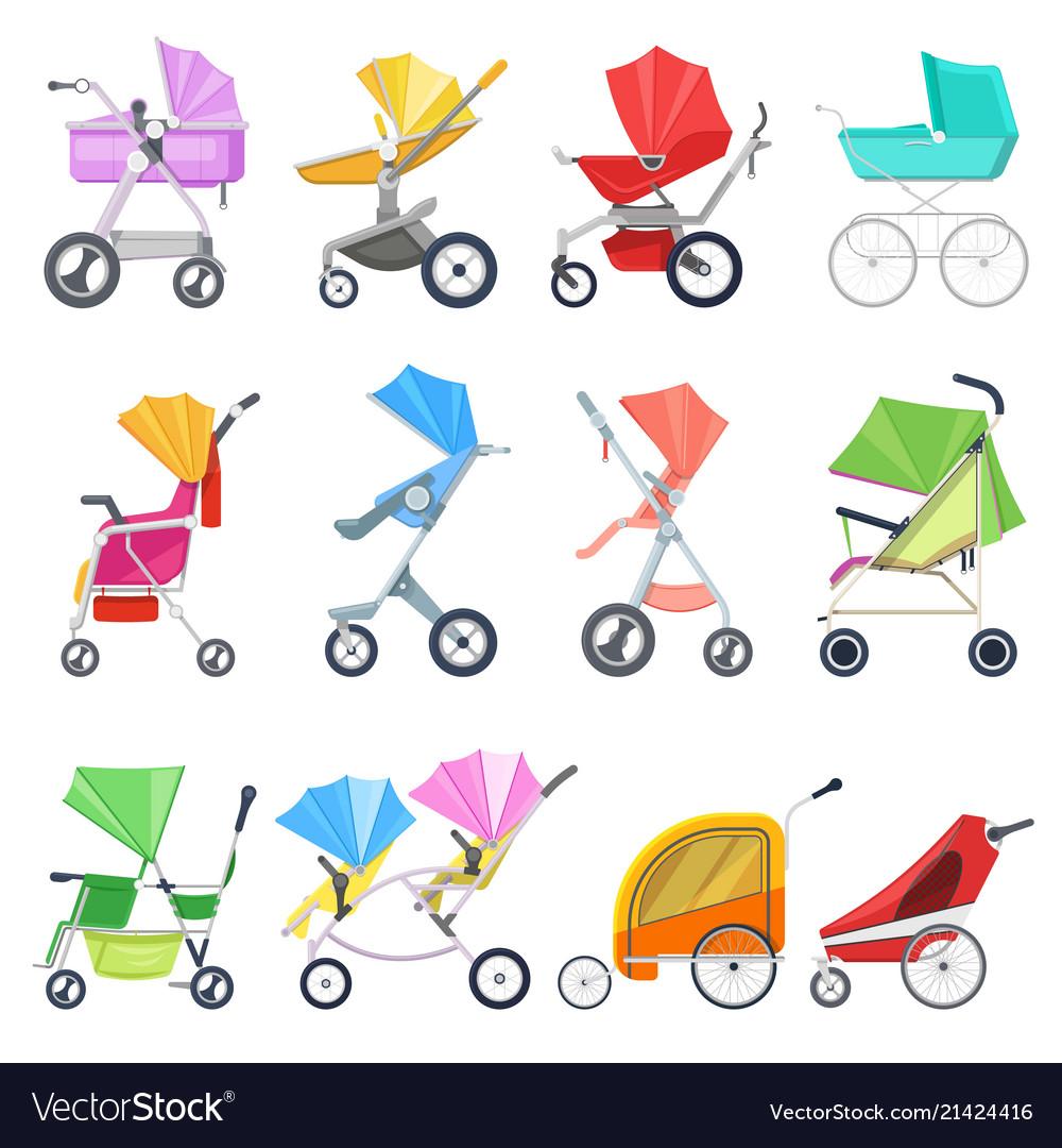 Stroller childish buggy or baby-stroller