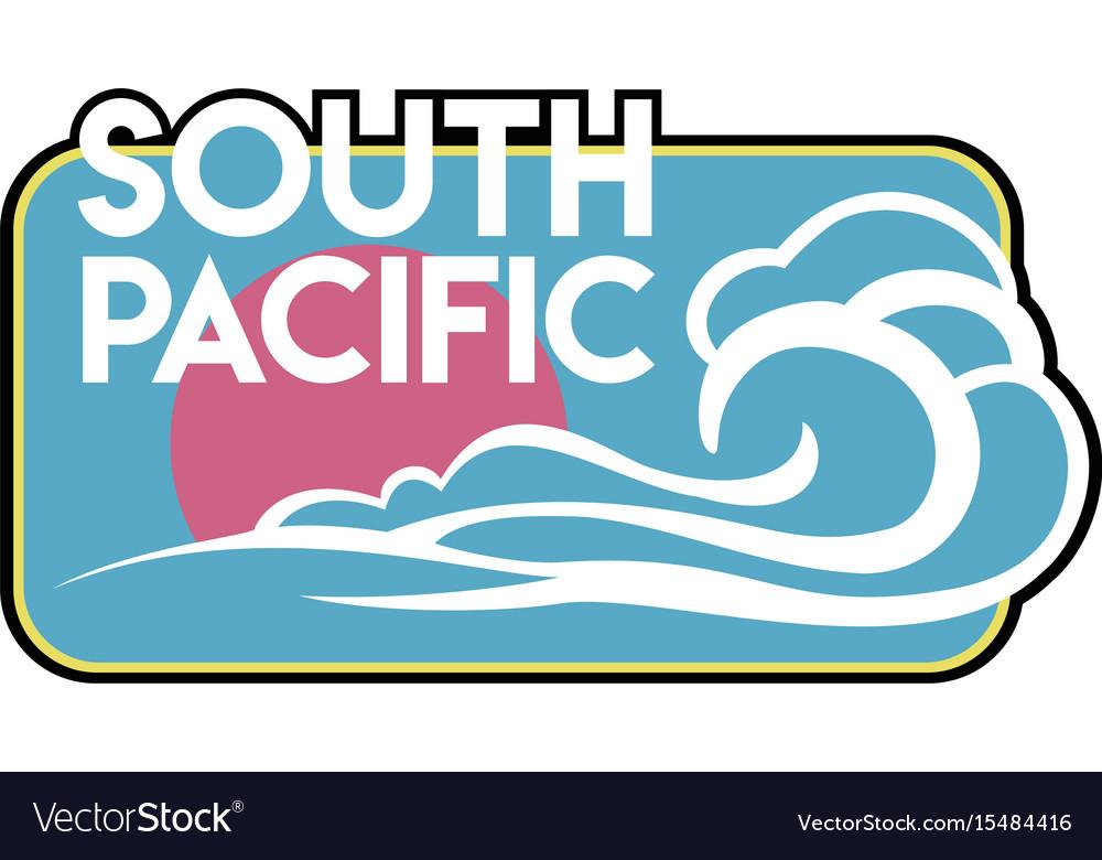 Vintage surf badge