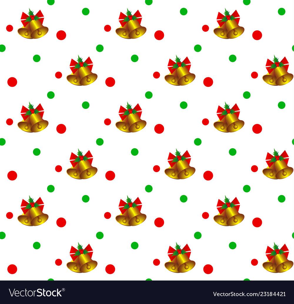 Christmas bells pattern