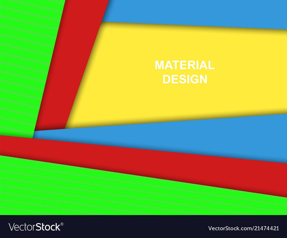 Material design backgroundbright colors
