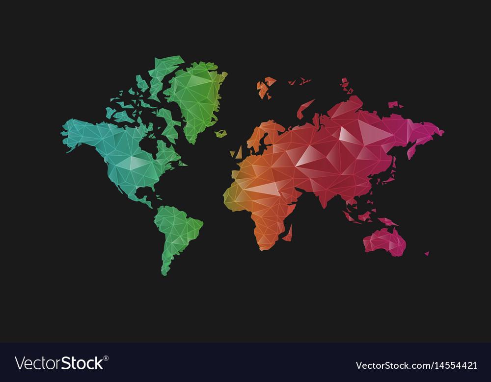 World map royalty free vector image vectorstock world map vector image gumiabroncs Choice Image