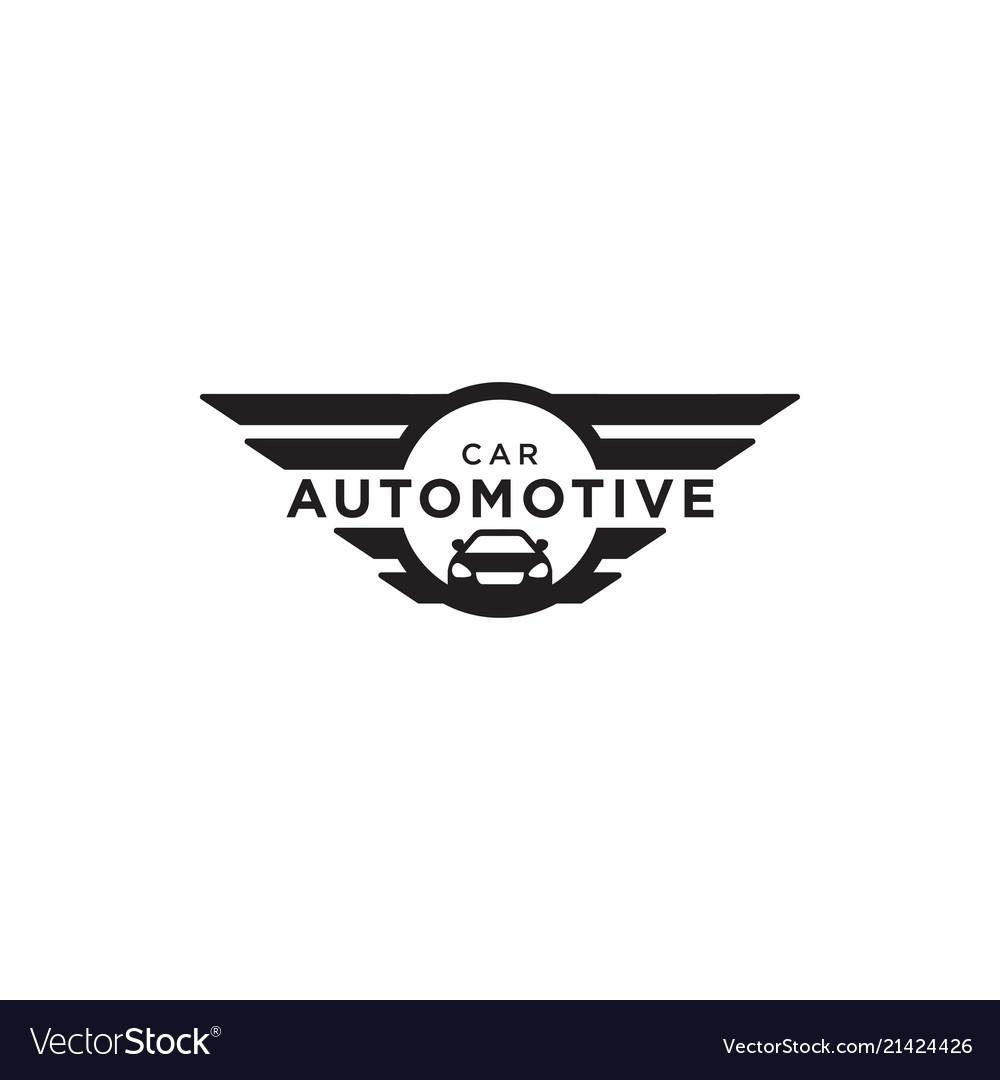 Automotive car logo design