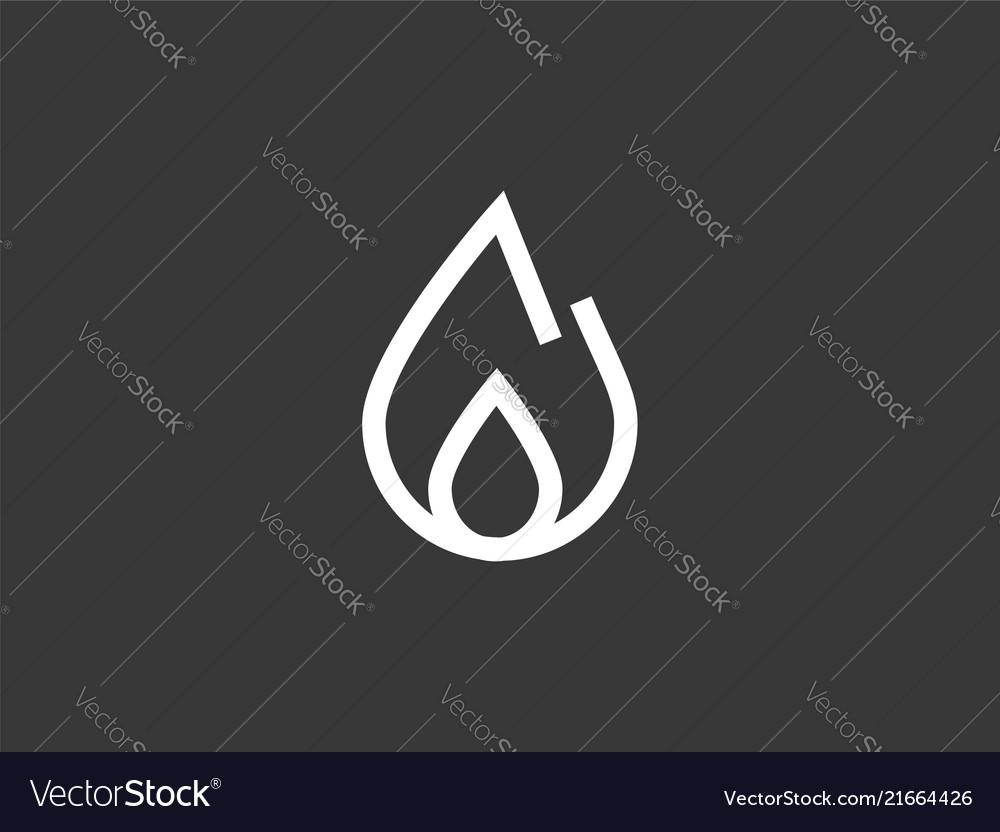 Fire icon sign symbol