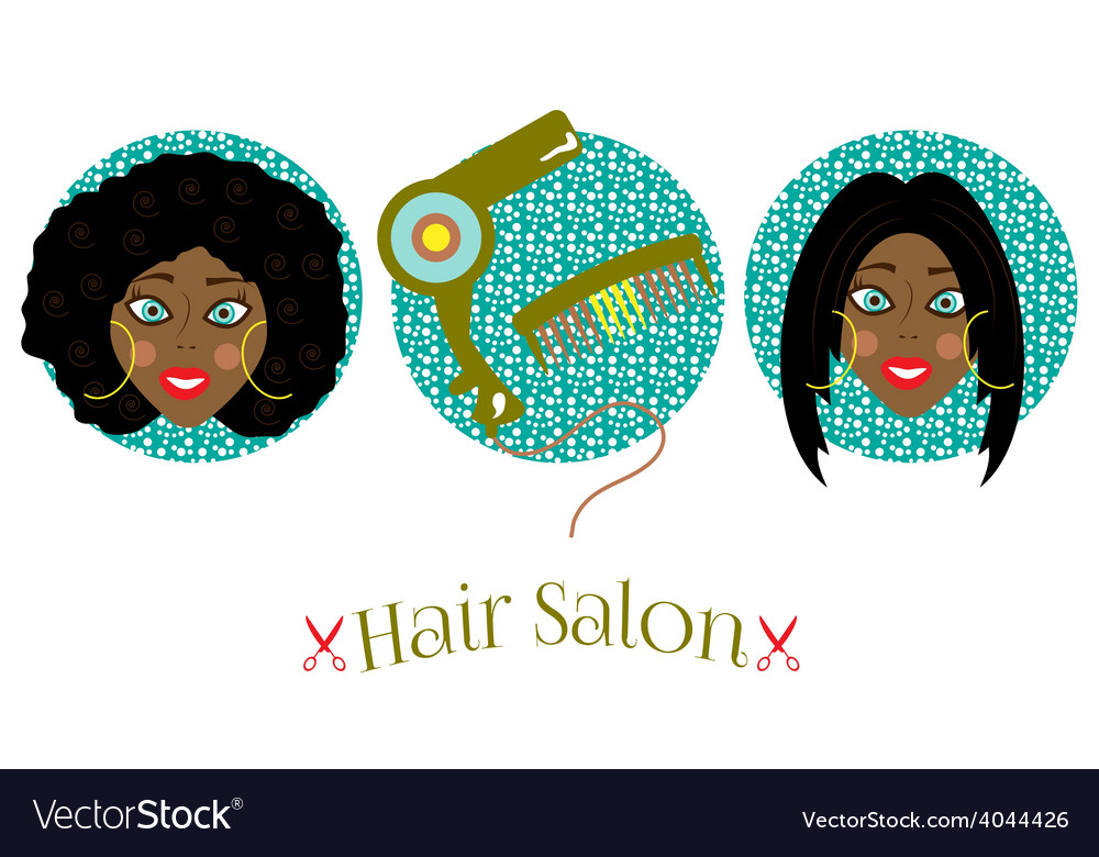 Picture of two women vector image