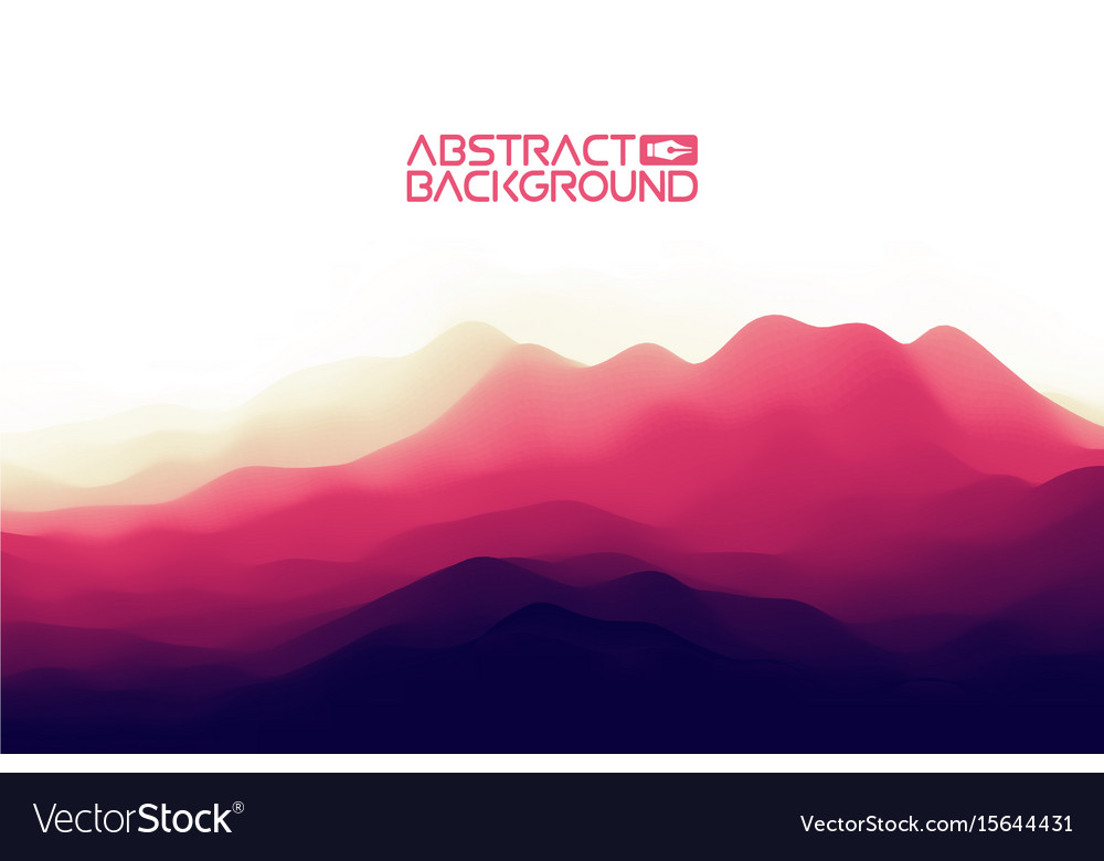 3d landscape background purple gradient abstract