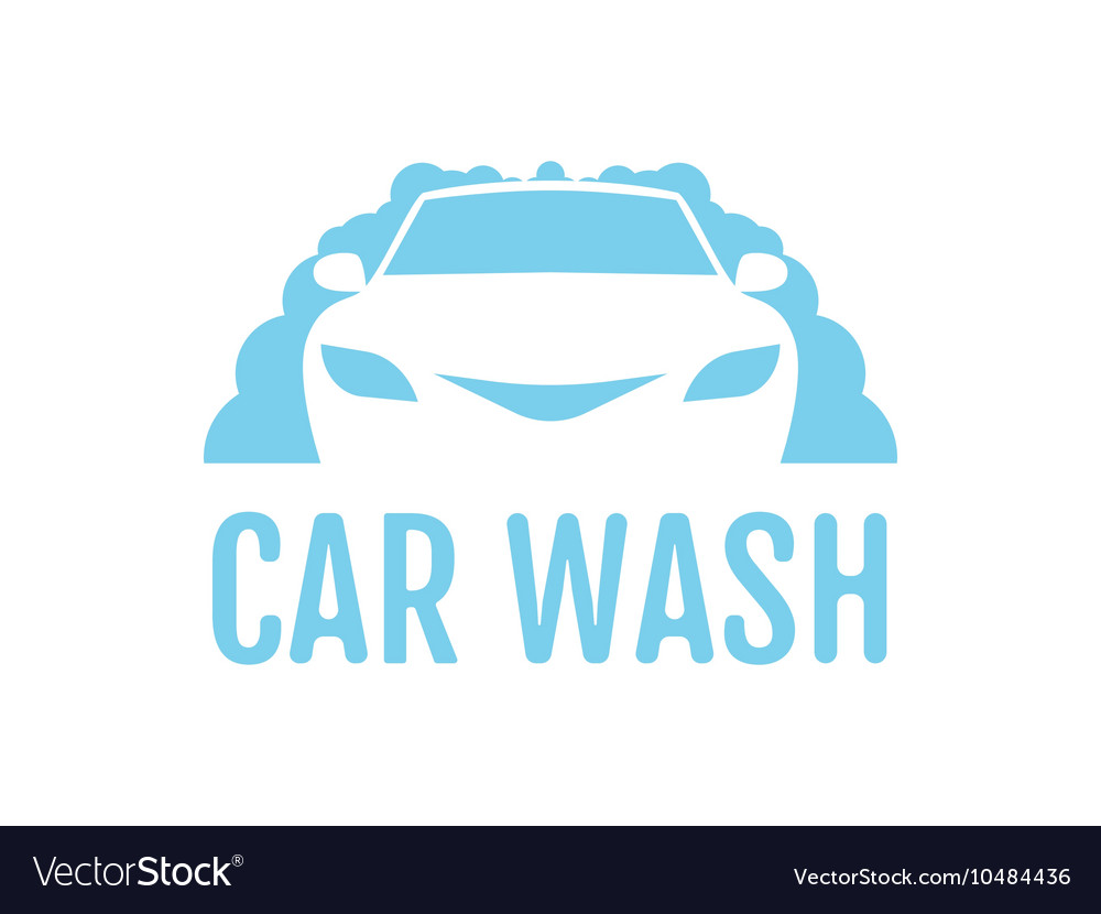 car wash logo	  Car wash logo design layout Corporate Royalty Free Vector