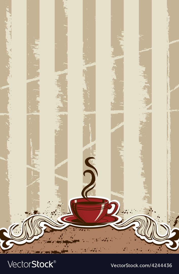 Coffe Cup Menu