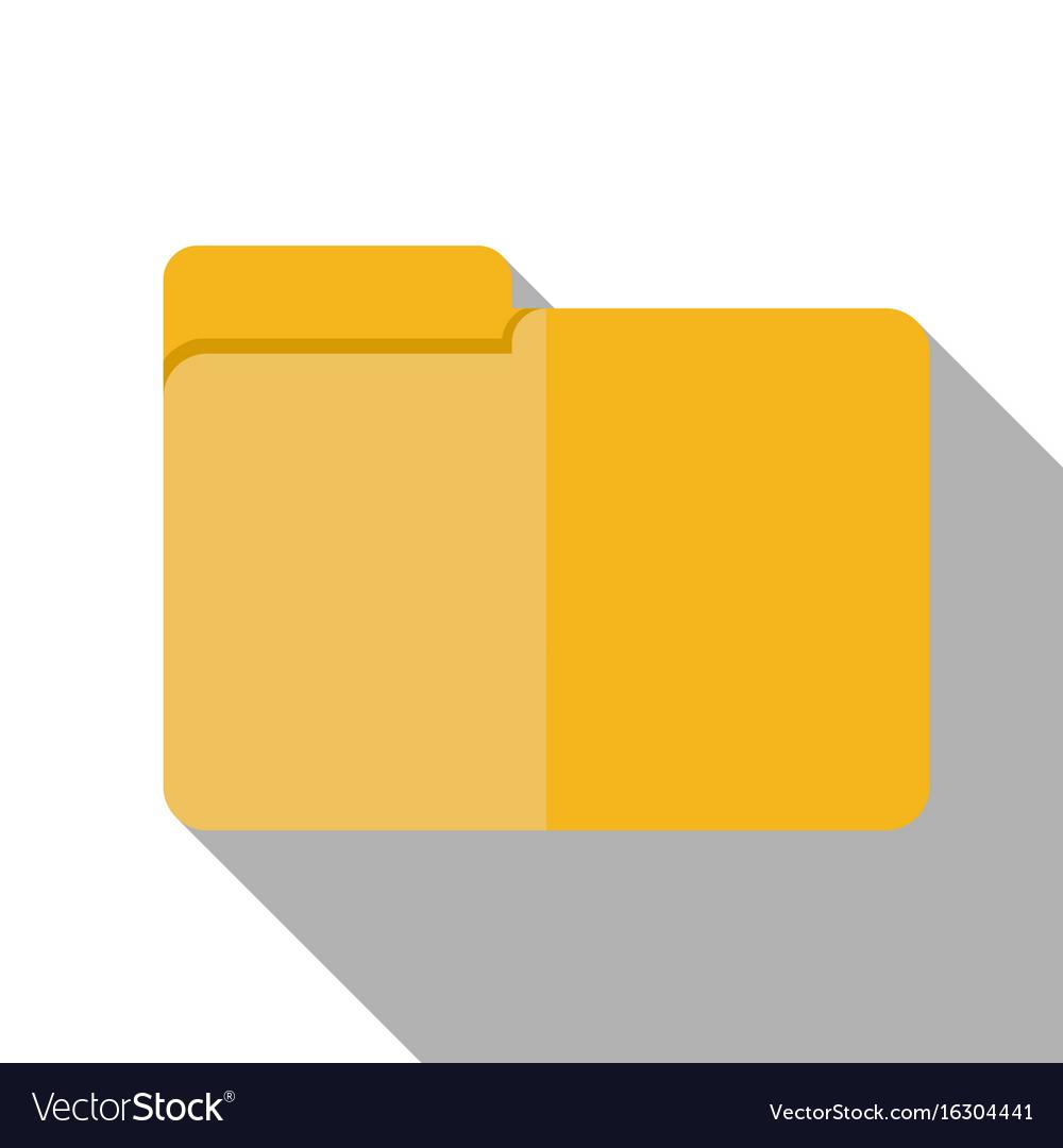 Flat icon - briefcase vector image
