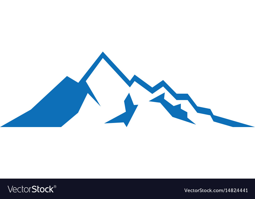 Mountain sign logo image