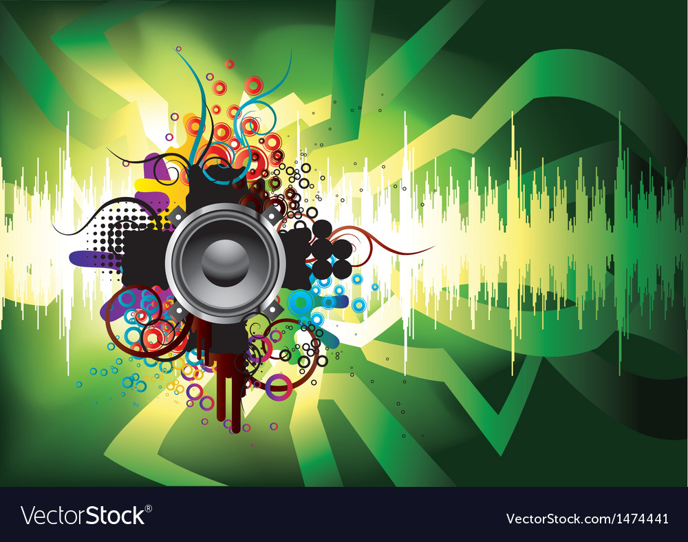Sound 10 vector image